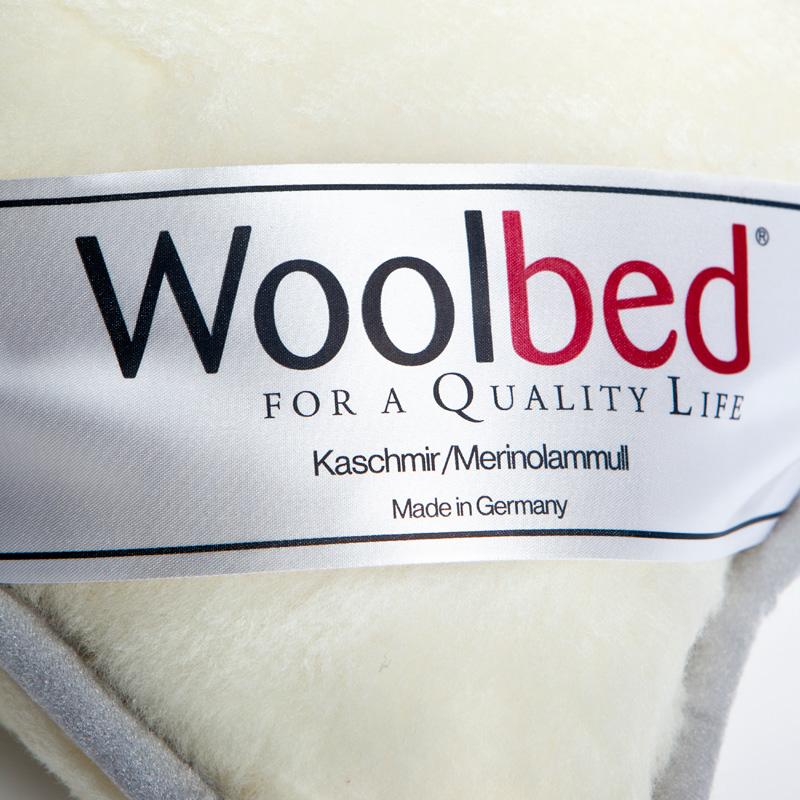 wool bed natural organic Pillow grey