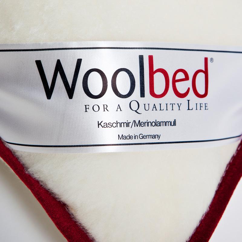 wool organic Pillow red